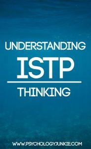 Understanding ISTP Thinking
