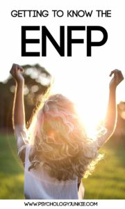 An in-depth look at the #ENFP personality type! #MBTI