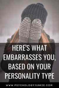 Find out what embarrasses each #personality type! #MBTI #personalitytype #myersbriggs #INTJ #INFJ #INTP #INFP #ENFP #ENTP #INTP #ISFJ #ISTJ #ISTP #ISFP #ESFJ