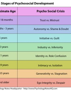 Erikson   stages of development chart also erik theory psychosocial the psychology rh psychologynoteshq