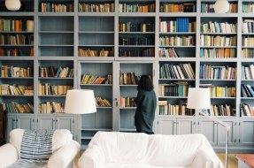 Μια βιβλιοθήκη στο σπίτι