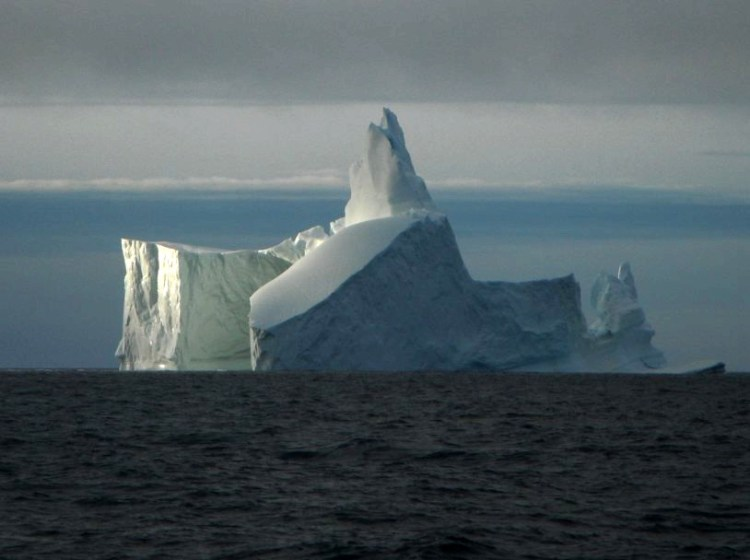 Iceberg in the Arctic Ocean