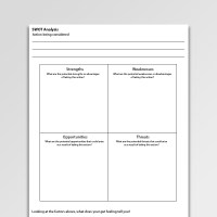 Swot Analysis Worksheet Template Image collections ...