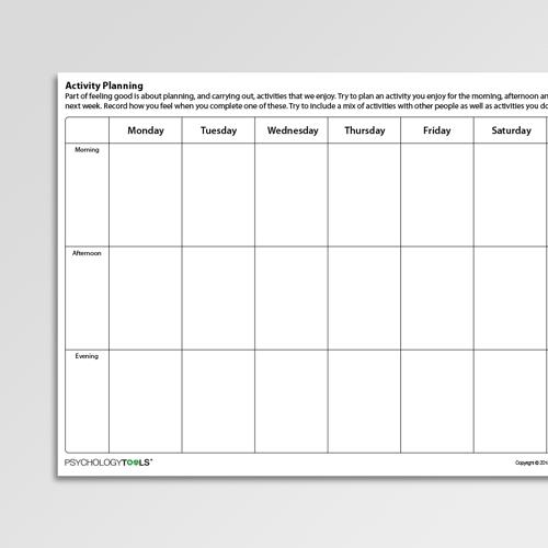 Behavioral Activation Worksheets & Handouts