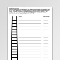 CBT Anxiety Management Worksheets & Handouts
