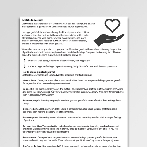 Repetitive Thought Rumination Worksheets