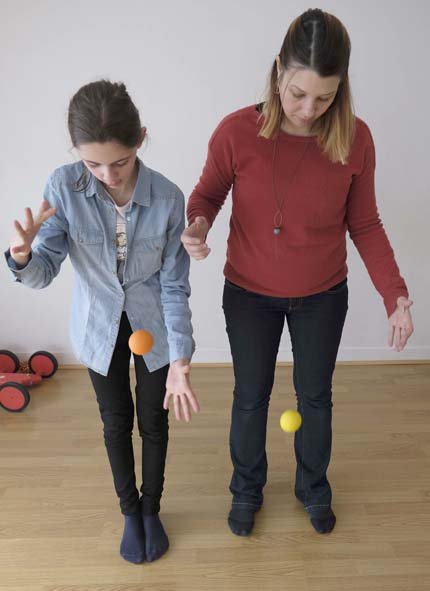 jonglage et psychomotricité