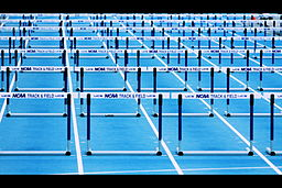 Hurdles (Scenes from a Track Meet)
