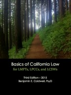 California Law for LMFTs, LPCCs, and LCSWs