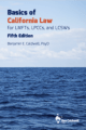 Basics of California Law for LMFTs, LPCCs, and LCSWs - 5th ed cover