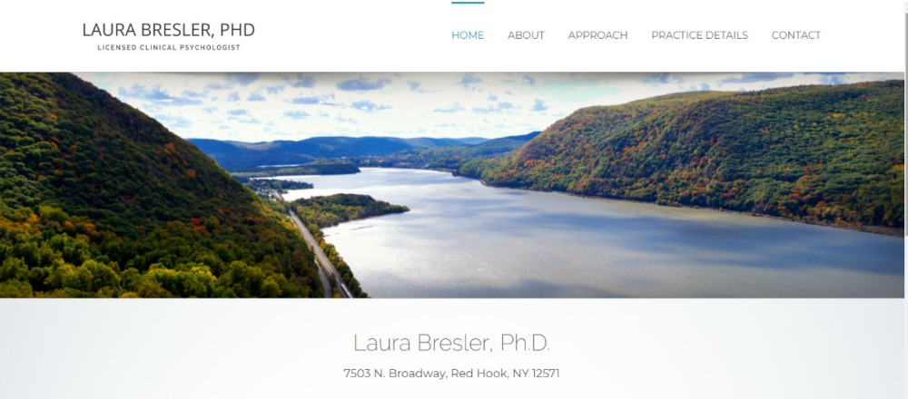CLINICAL PSYCHOLOGIST WEBSITE DESIGN