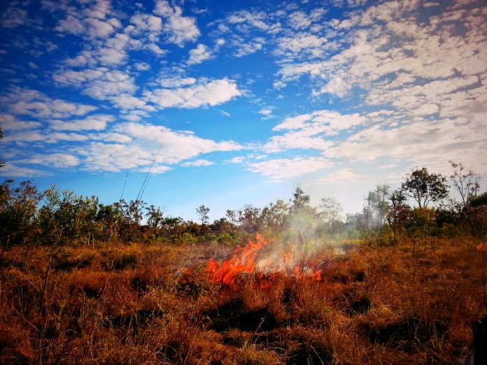 Bush Fire Eastern Arnhem Land