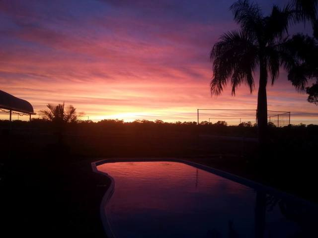 Sunrise over Outback Queensland