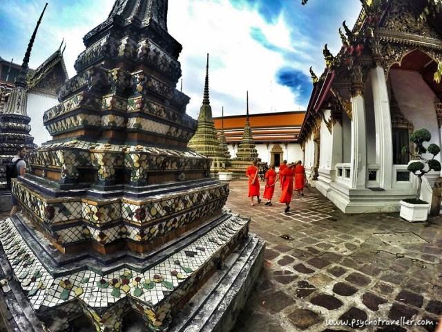 Wat Pho Monks