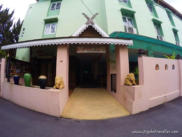 thaphae garden guest house