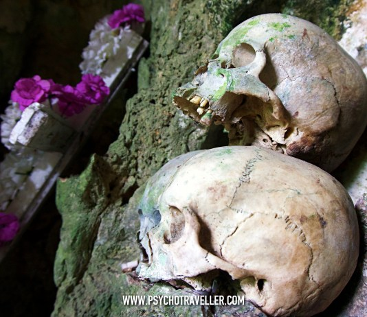 Toraja graveyard cave