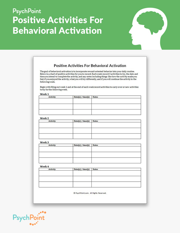 Behavioral Worksheets