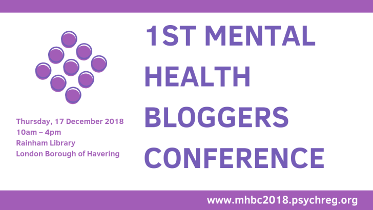 Psychreg and GetPsyched to Host 1st Mental Health Bloggers Conference