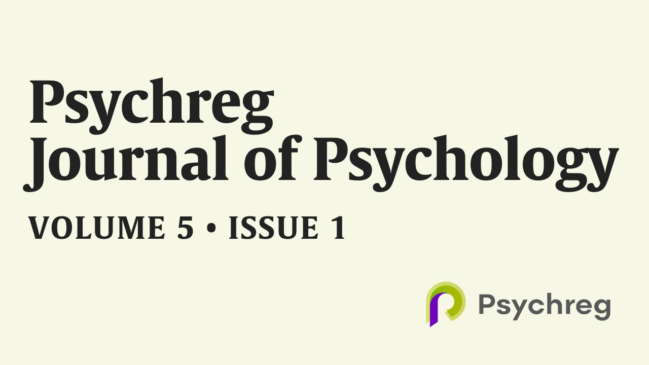 Latest Issue of Psychreg Journal of Psychology (Volume 5, Issue 1), Published | Psychreg