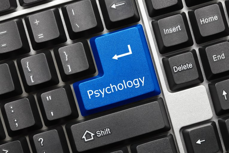 "Psychology button on computer where ""Enter"" key should be"