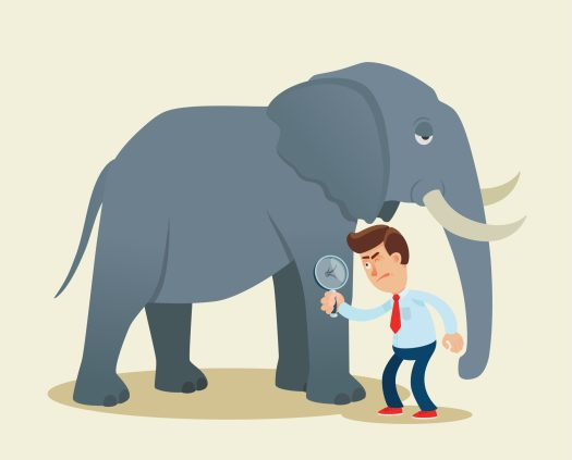 Reading others' emotions can be like looking at an elephant through a microscope. You only get a small glimpse of what someone's really feeling