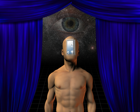 http://www.dreamstime.com/stock-images-god-mind-man-open-door-face-eye-peering-space-image31968474