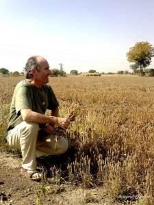 Bernard Clavière en Inde