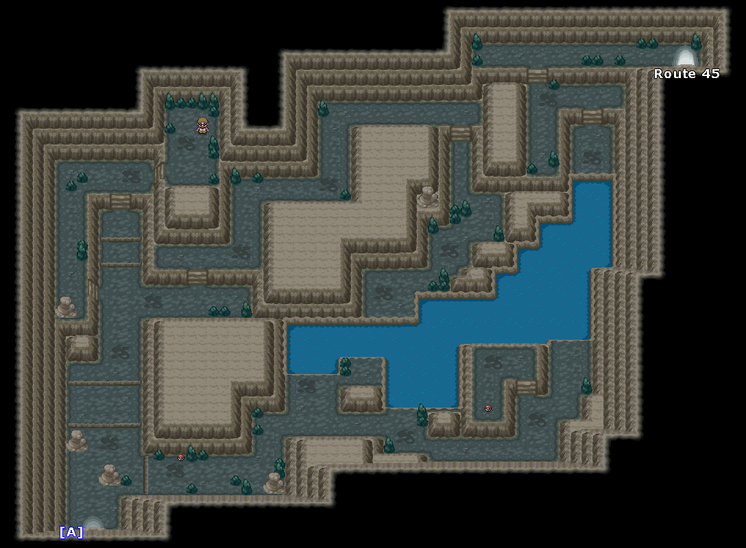 Map Relic Cave Black 2