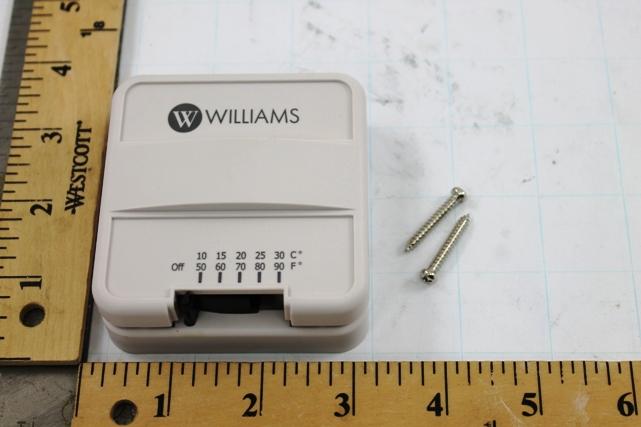 WILLIAMS FURNACE P322016 Thermostat
