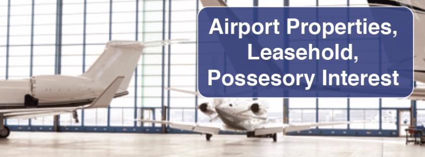 Airport, Leasehold, Possessory Interest