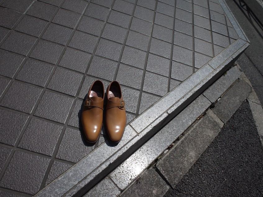 夏色の革靴