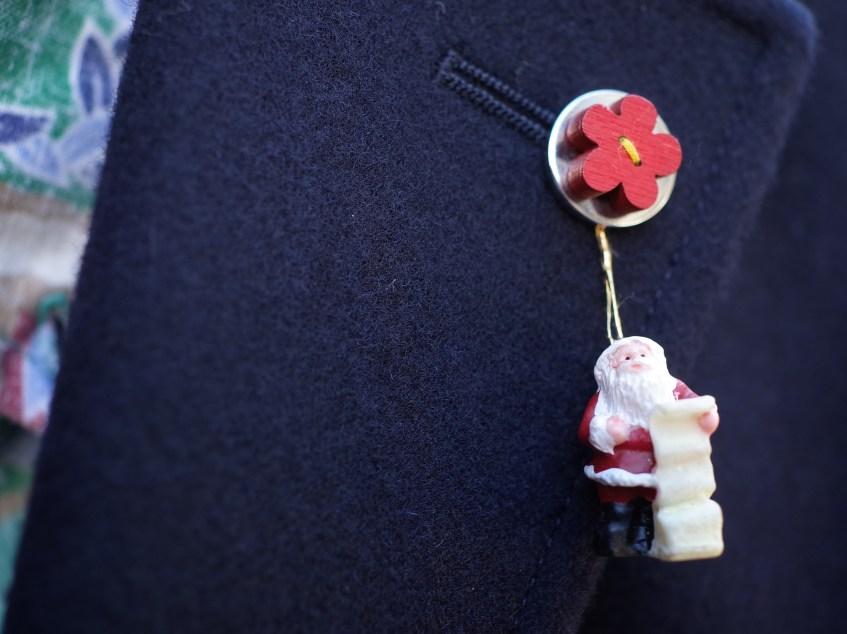 紺ジャケの活用系 クリスマスに