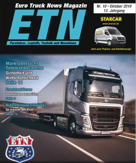 PTC in den News: Euro Truck News - Marktübersicht Telematik