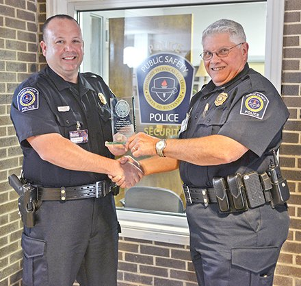 Campus Police Officer Honored for Specialized Training  Piedmont Technical College