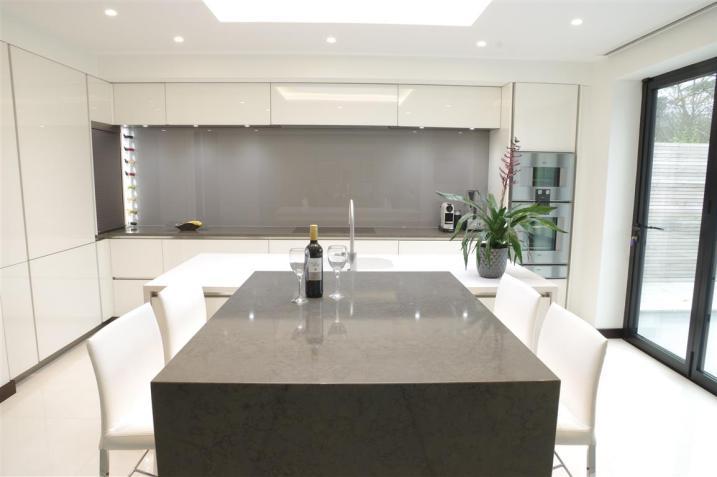 Brilliant White Kitchen