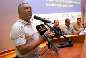 07Noviembre2014/ Museo de Jade, San Jose/ Patria Justa nueva coalicion de Sindicatos que buscan la justicia social del costarricense en lucha contra el Neoliberalismo/ Fabio Chaves del Sindicato del ICE se pronuncia/Carlos Borbon