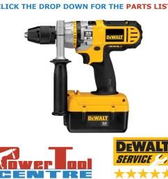 details about dewalt genuine spare parts dc901 cordless drill type 2 [ 1200 x 1200 Pixel ]