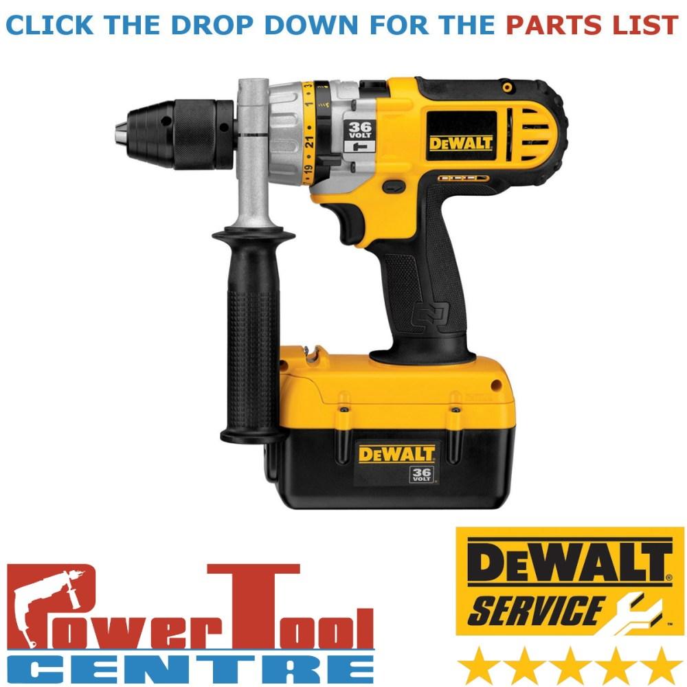 medium resolution of details about dewalt genuine spare parts dc901 cordless drill type 2