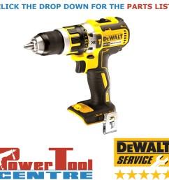 details about dewalt genuine spare parts dcd795 cordless drill type 1 [ 1200 x 1200 Pixel ]