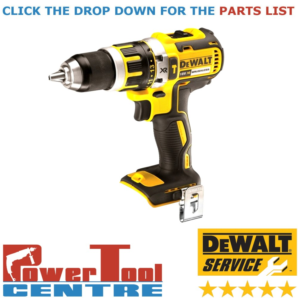 medium resolution of details about dewalt genuine spare parts dcd795 cordless drill type 1