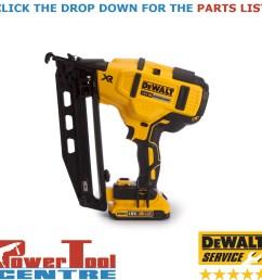 details about dewalt genuine spare parts dcn660 finish nailer type 1 [ 1200 x 1200 Pixel ]