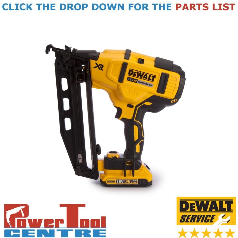 medium resolution of details about dewalt genuine spare parts dcn660 finish nailer type 1