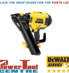 details about dewalt genuine spare parts dcn694 cordless nailer type 1 [ 1200 x 1200 Pixel ]