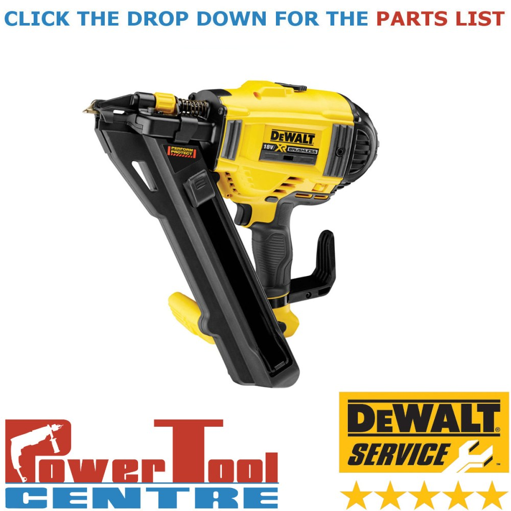 medium resolution of details about dewalt genuine spare parts dcn694 cordless nailer type 1