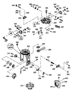 Spares for Dewalt Dw728 Radial Arm Saw (type 1) SPARE