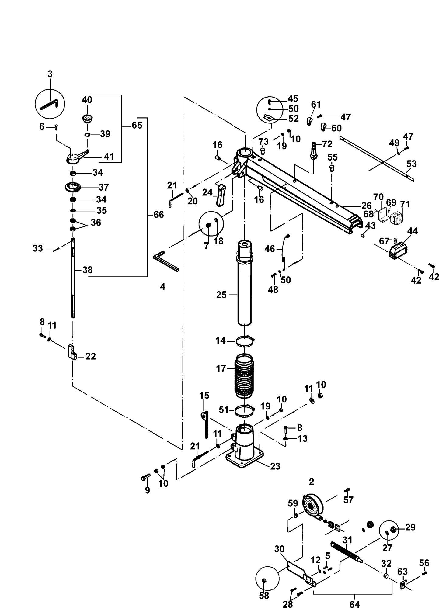 Radial Arm Saw Diagram
