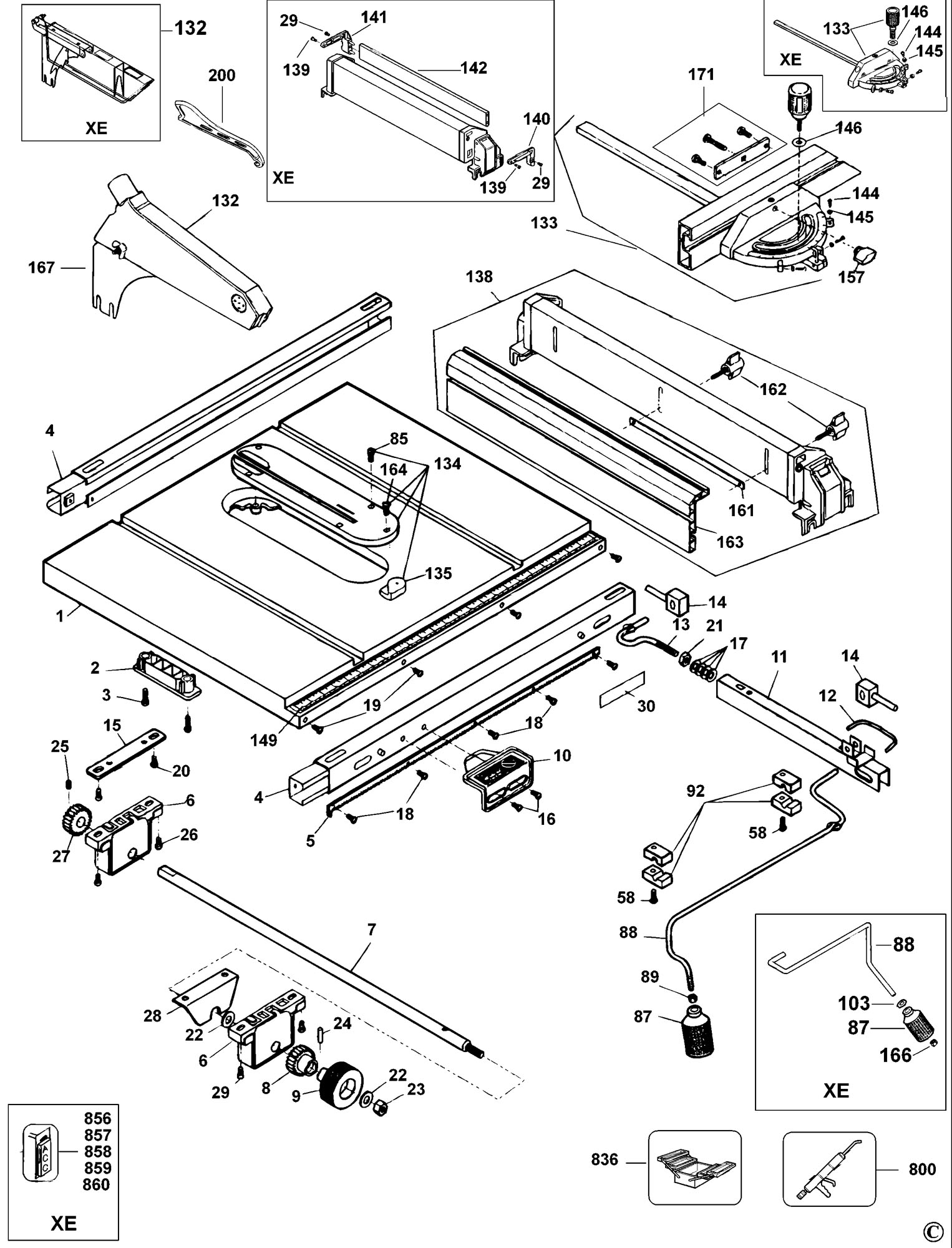 hight resolution of dw744 table saw wiring diagram