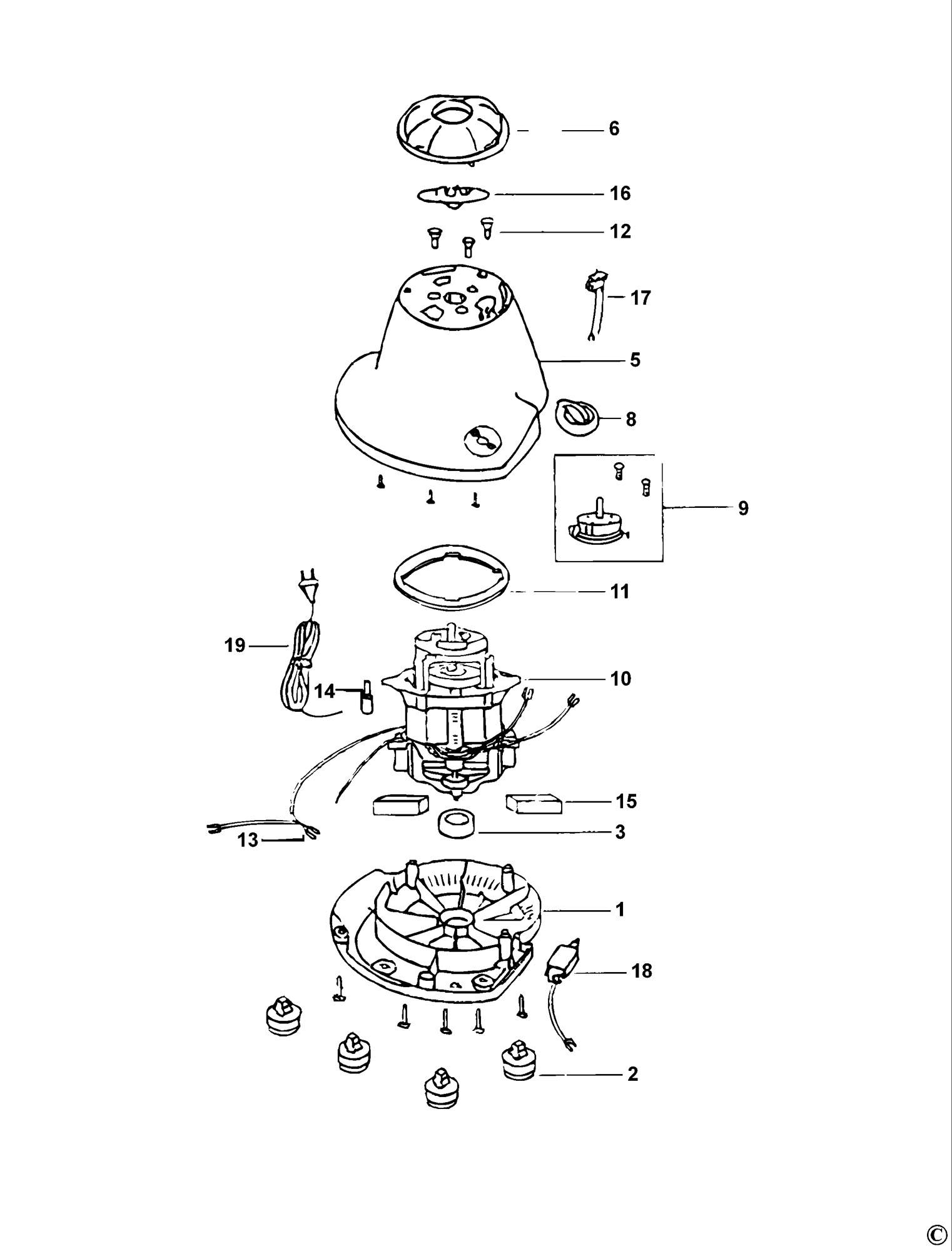 Spares for Black & Decker Mg560 Mixer Grinder (type 1