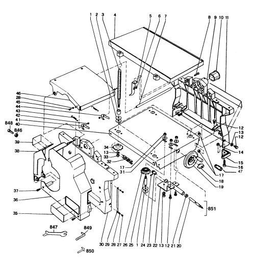 small resolution of spares for dewalt dw1150 f planer thicknesser type 1 dewalt planer wiring diagram