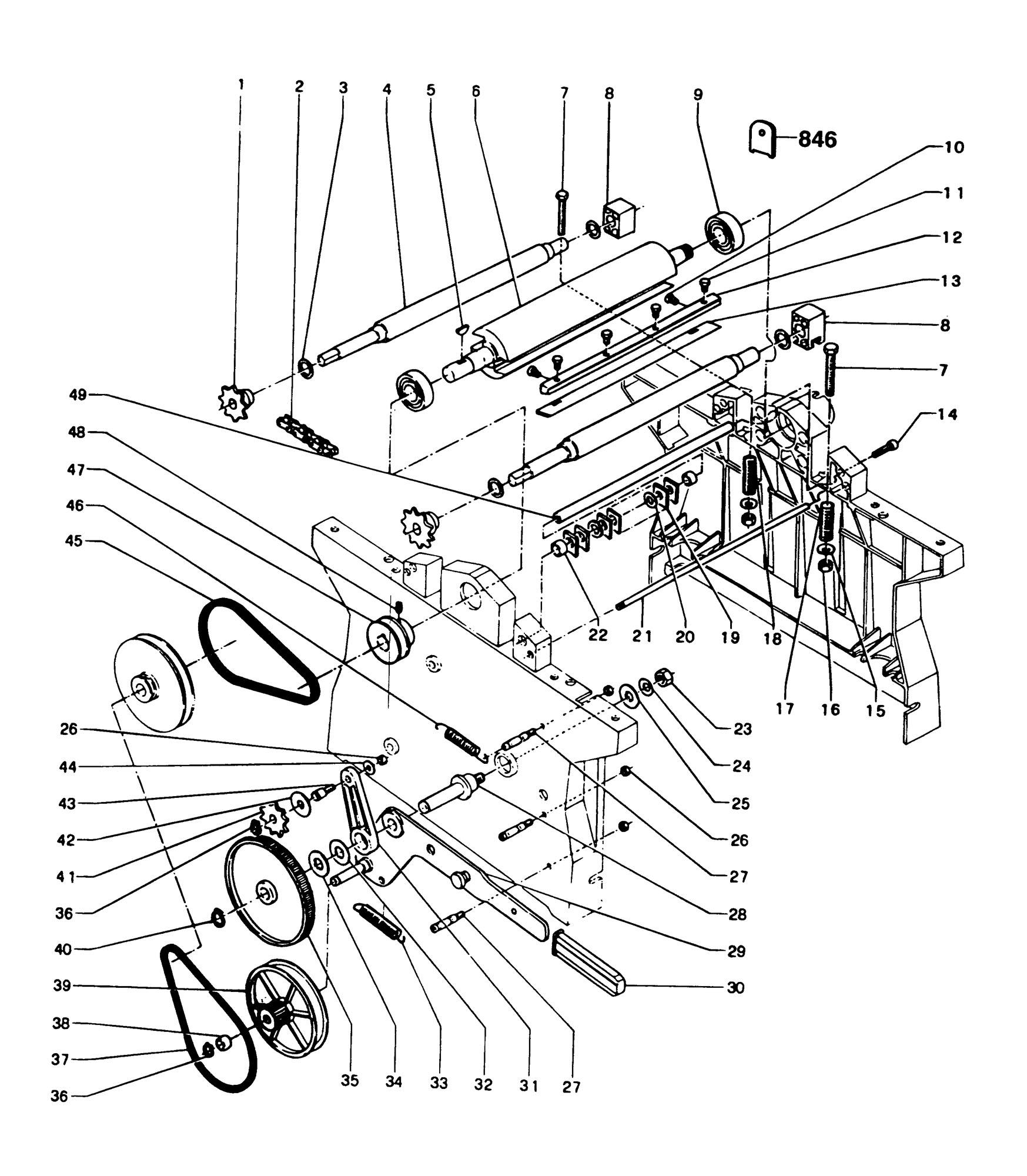 Spares for Dewalt Dw1151----k Planer Thicknesser (type 1